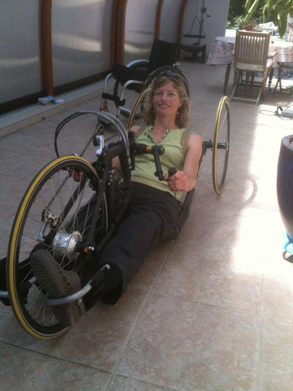 prise de mesures à Beziers pour mon futur vélo