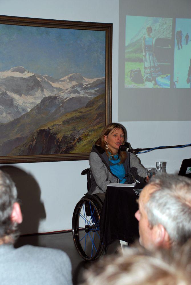 11.12.13 (15) IMD Grenzerfahrungen_Alpenkonvention_Vanessa ©Alpenverein-Museum-Raich