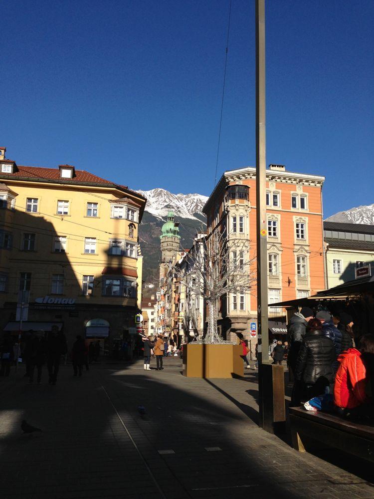 Petite ballade dans les rues d'Innsbruck.